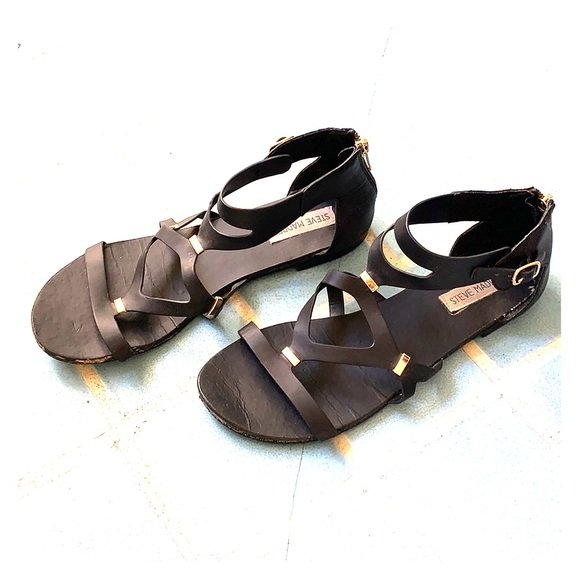 Steve Madden Shoes | Sandals Black With